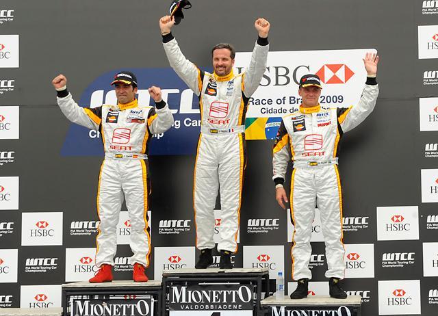 WTCC開幕戦クリティバ:2レースともセアトが表彰台独占(1)