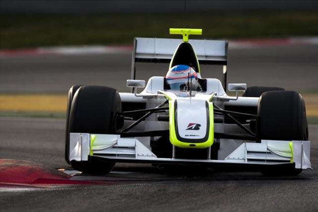 バルセロナテスト3日目:バトン&ブラウンGPがトップタイム! ハミルトンはクラッシュ(1)