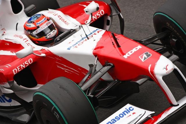 【トヨタF1】F1合同バルセロナテスト3日目 グロックが100周以上走りこむ(1)