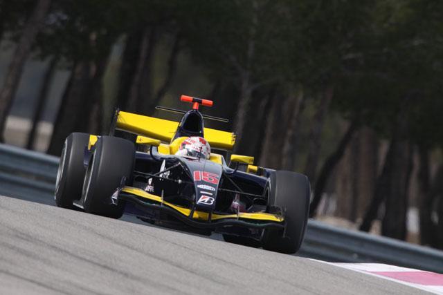 GP2ポール・リカールテストがスタート。ビラがトップ、可夢偉は3番手(1)