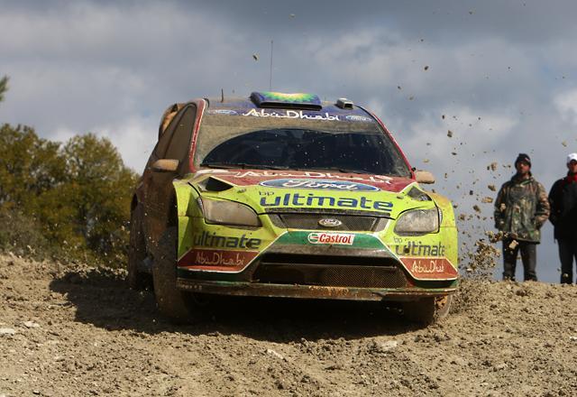 WRCキプロス:ローブ、デイ2もリードをキープ ペターがSS連続トップで4番手に(2)