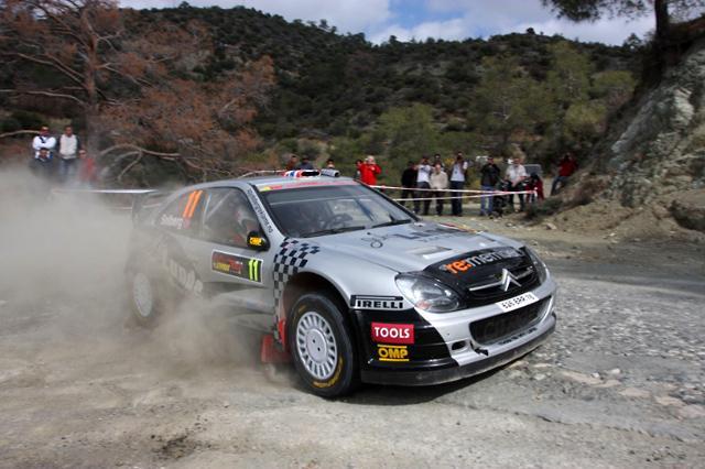 WRCキプロス:ローブ、デイ2もリードをキープ ペターがSS連続トップで4番手に(4)