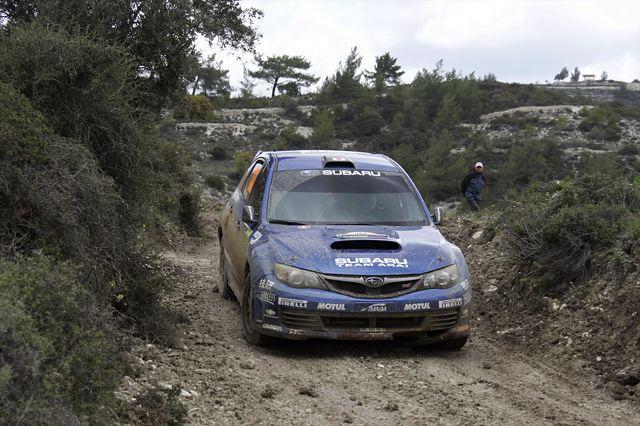 WRC第3戦キプロス:ローブが通算50勝目をマーク、ペターがクサラで3位表彰の大殊勲(5)