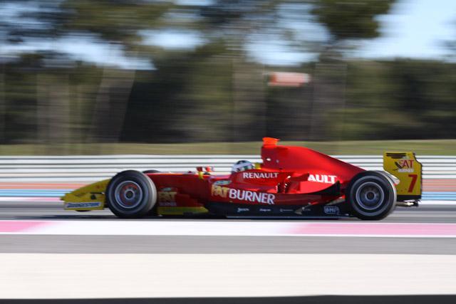 GP2ポール・リカールテスト最終日:ディ・グラッシがトップタイム(1)