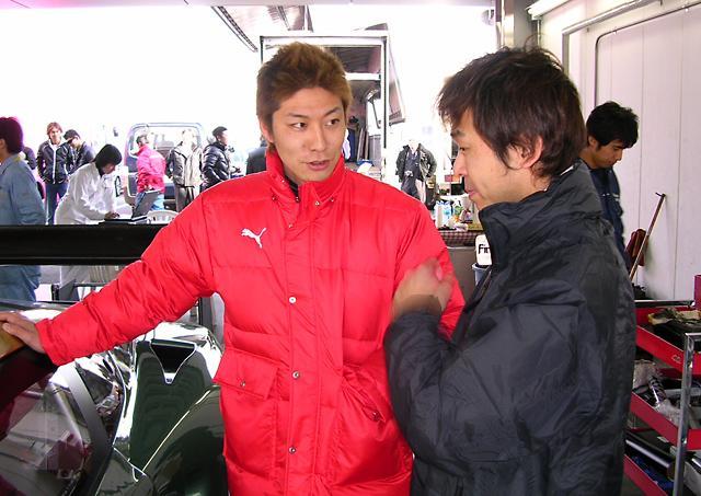 ASTON MARTIN 赤坂 DBR9、富士でシェイクダウンを終える(3)