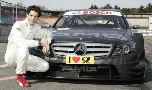 ブルーノ・セナ、メルセデスのDTMマシンを初ドライブ(1)