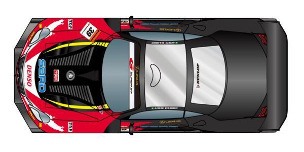 【LEXUS TEAM SARD】LEXUS TEAM SARD、車両とレーシングスーツのカラーリングを公開(4)