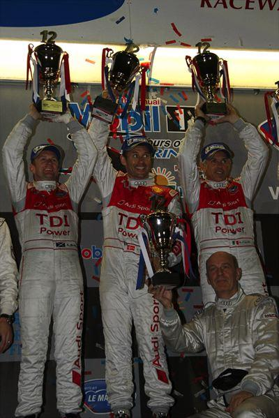 ALMSセブリング12時間:アウディが貫録勝ち、R15デビューウインを達成。アキュラLMP1はリタイア、LMP2では優勝(2)