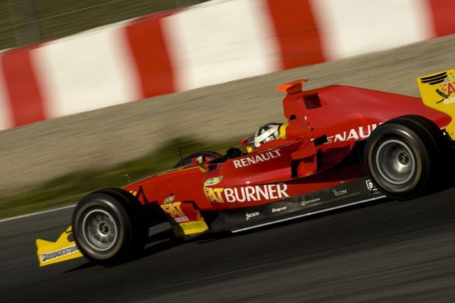 GP2バルセロナテストがスタート。ディ・グラッシがトップタイム(1)