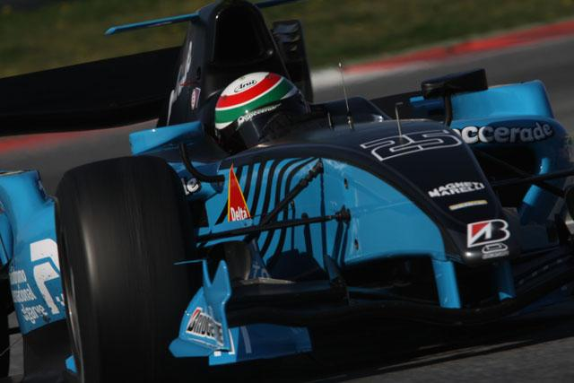 GP2バルセロナテスト2日目:パレンテがトップタイム(1)