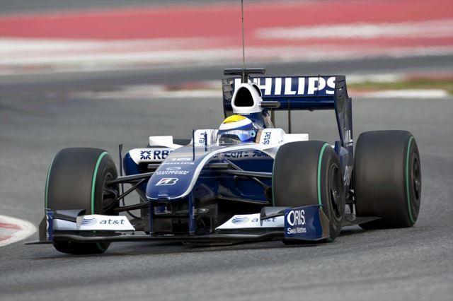 F1開幕戦オーストラリアGPフリー走行1回目:一貴2番手好発進、ウイリアムズが1-2(1)