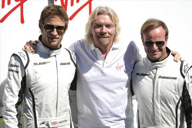 ブラウンGP、ヴァージンとのパートナーシップ契約を正式発表(1)