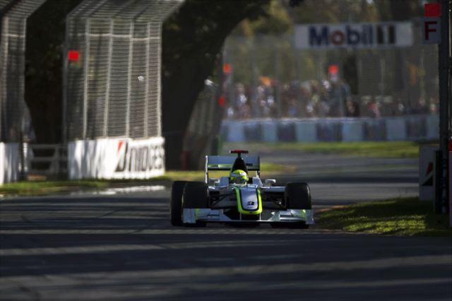 F1開幕戦オーストラリアGP予選:絶好調!ブラウンGP、Q1からQ3までトップ2を独占、バトンがPP(1)