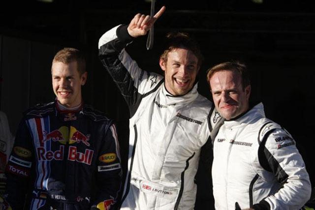 オーストラリアGP土曜ドライバーズコメント:バトン「デビューレースでポールが取れるなんて最高の結果」(2)