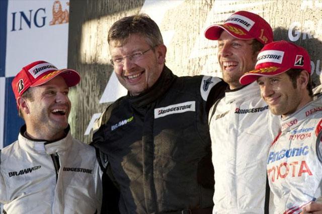 オーストラリアGP日曜ドライバーズコメント:バトン「おとぎ話のような結末」(2)