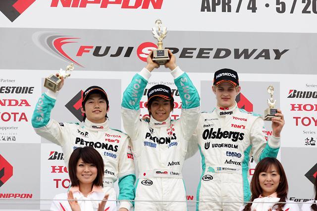 【トヨタモータースポーツニュース】2009年全日本F3選手権 第1大会 TDPドライバー井口卓人が2連勝!(1)