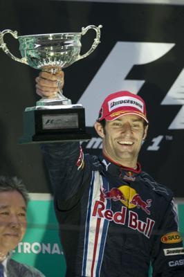 F1中国GP決勝、レッドブルが1-2! ベッテルが得意のウエットレースを制す(4)