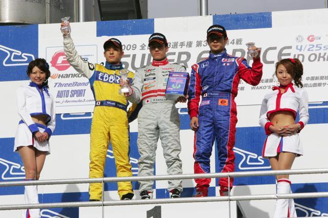 安田「レインタイヤで勝負、ラッキーだった」(2)