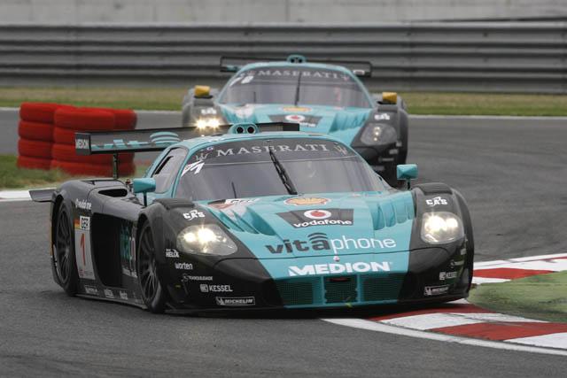 FIA GT第2戦アドリア:No.1ビータフォンが優勝(1)