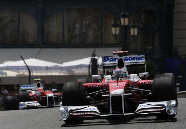 【トヨタF1】F1世界選手権第6戦モナコGP フリー走行初日(1)