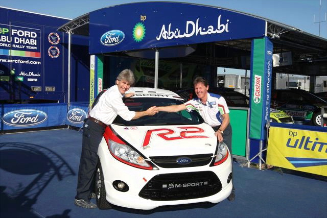 新規定フィエスタがサルディニアでコースカーとしてお披露目(1)