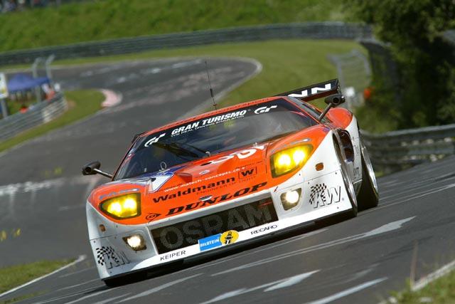ニュル24時間予選、初登場のFIA GT3仕様#40フォードGTがPP獲得(1)