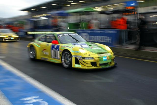 ニュル24時間予選、初登場のFIA GT3仕様#40フォードGTがPP獲得(2)