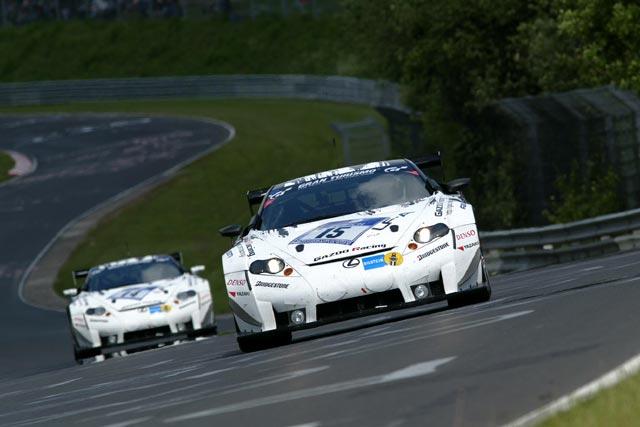 ニュル24時間予選、初登場のFIA GT3仕様#40フォードGTがPP獲得(3)