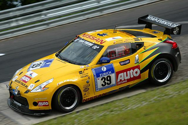 【日産自動車】ニュル24時間レース:新型Z、24時間デビューはクラス6位完走、ファルケンZが健闘、クラス4位(1)