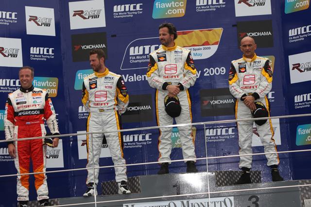 WTCC第9・10戦バレンシア:イバン・ミュラー&ファルファスが優勝(1)
