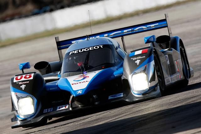 2009 ル・マン24時間レース LMP1参戦車両(2) プジョー908 HDI FAP