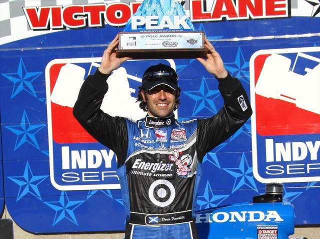 IRL第6戦テキサス:フランキッティがポールポジションを獲得(2)