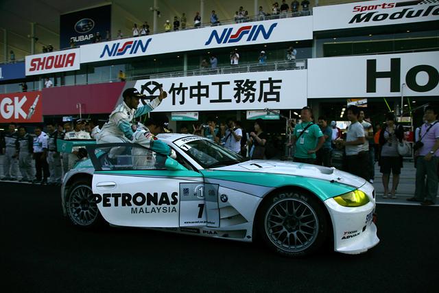 スーパー耐久第3戦決勝:谷口/柳田/ハイルマンZ4がポールtoフィニッシュで完勝(1)