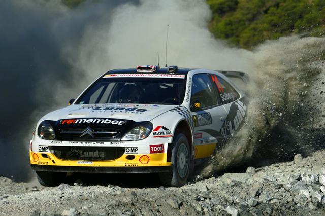 WRCアクロポリス・デイ1:ラトバラのコースアウトでヒルボネンが首位に(4)