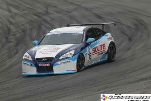 阪口良平、ひさびさに韓国のレースに出場 ライバルは韓流スター?(1)