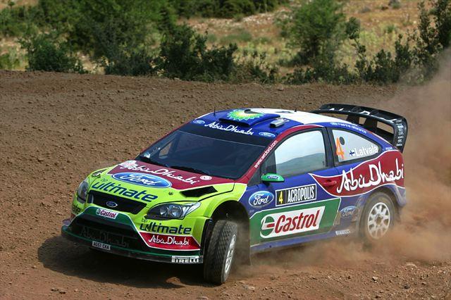 WRC第7戦アクロポリス:デイ2もヒルボネンがリード、ローブは転倒リタイア(3)