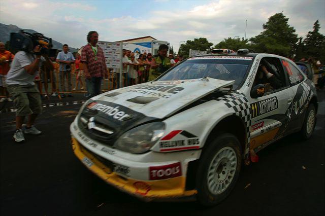WRC第7戦アクロポリス:デイ2もヒルボネンがリード、ローブは転倒リタイア(5)