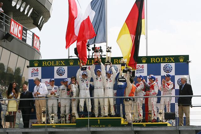 ル・マン24時間レース:決勝レポート・プジョー908がデビュー3年目の勝利(1)