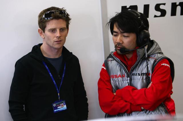 ニスモ、スパ24時間の第3ドライバーにデイビッドソンを起用