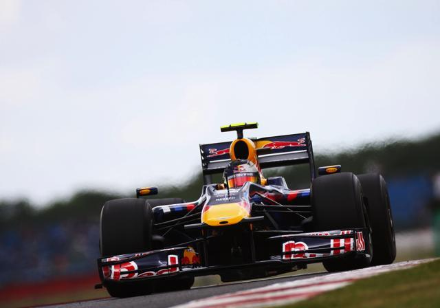 F1イギリスGP、フリー走行2回目もレッドブルが1-2(1)