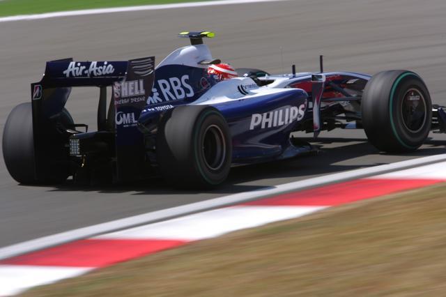 F1イギリスGPフリー走行3回目、ニコ&一貴のウイリアムズが1-2(1)