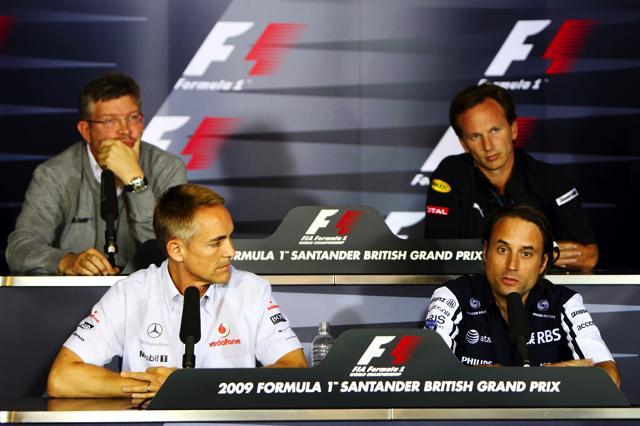 F1イギリスGP 金曜プレスカンファレンス