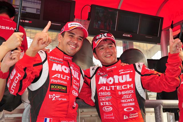 スーパーGT第4戦予選:MOTUL GT-R、大逆転! 3戦連続ポール獲得の偉業達成(1)