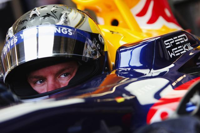 F1イギリスGP、ベッテルが2戦連続のポール獲得。中嶋一貴は健闘の5番手(1)