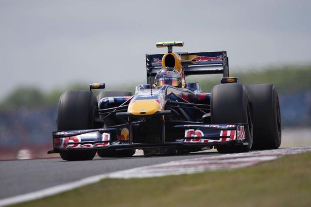 F1イギリスGP、ベッテルがポール・トゥ・ウィン! レッドブルが1-2(1)