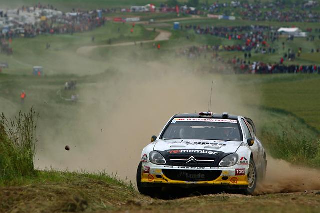 WRCポーランド:デイ2もトップ3は変わらず。オジェが4番手に(5)