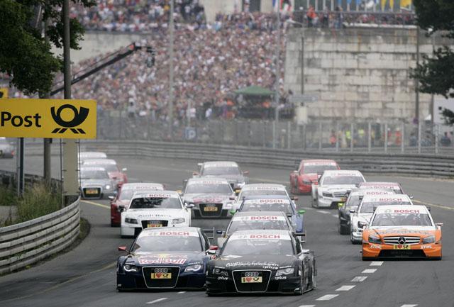 DTM第3戦ノリスリンク:終盤の接戦を制し、グリーンが2年連続優勝(2)