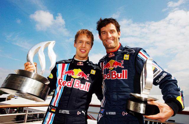 2009年イギリスGPベッテル&ウエーバー
