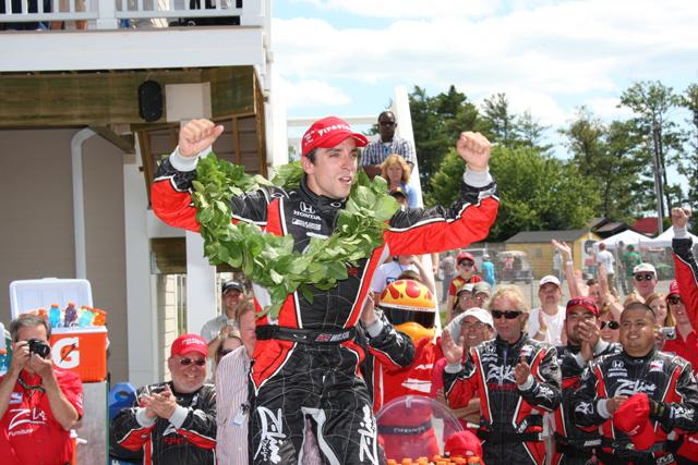 IRL第9戦ワトキンスグレン:ウイルソンがデイル・コインにシリーズ初優勝をプレゼント(1)