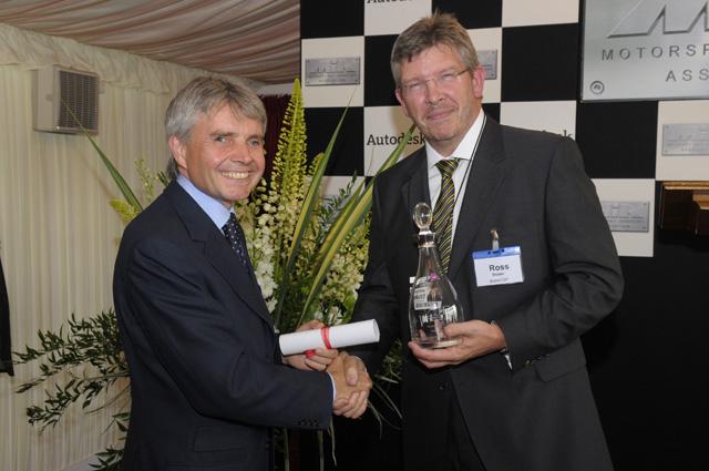 ロス・ブラウン、モータースポーツへの貢献が認められMIA賞を受賞(1)
